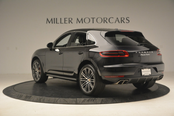 Used 2016 Porsche Macan Turbo for sale Sold at Bugatti of Greenwich in Greenwich CT 06830 5