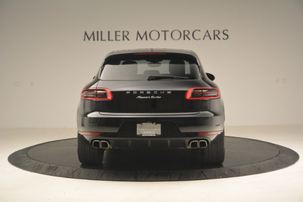 Used 2016 Porsche Macan Turbo for sale Sold at Bugatti of Greenwich in Greenwich CT 06830 6