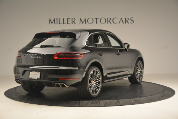 Used 2016 Porsche Macan Turbo for sale Sold at Bugatti of Greenwich in Greenwich CT 06830 7