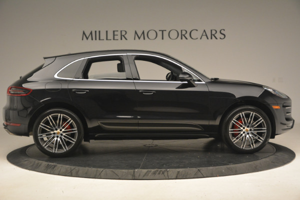 Used 2016 Porsche Macan Turbo for sale Sold at Bugatti of Greenwich in Greenwich CT 06830 9