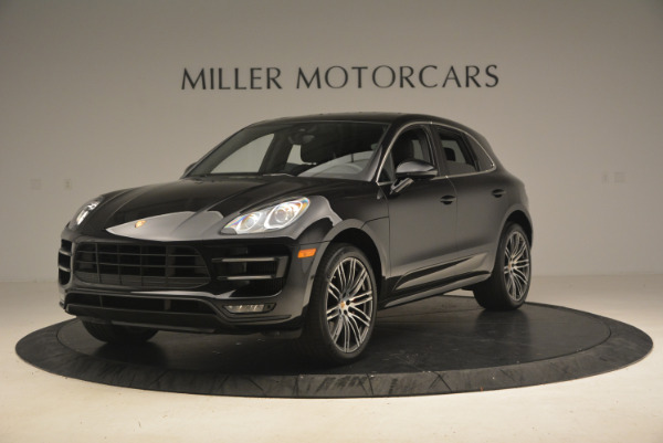 Used 2016 Porsche Macan Turbo for sale Sold at Bugatti of Greenwich in Greenwich CT 06830 1
