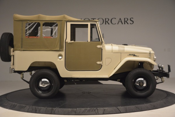 Used 1966 Toyota FJ40 Land Cruiser Land Cruiser for sale Sold at Bugatti of Greenwich in Greenwich CT 06830 12