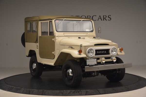 Used 1966 Toyota FJ40 Land Cruiser Land Cruiser for sale Sold at Bugatti of Greenwich in Greenwich CT 06830 14
