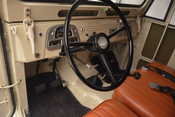 Used 1966 Toyota FJ40 Land Cruiser Land Cruiser for sale Sold at Bugatti of Greenwich in Greenwich CT 06830 17