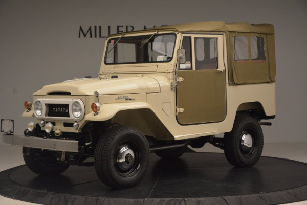 Used 1966 Toyota FJ40 Land Cruiser Land Cruiser for sale Sold at Bugatti of Greenwich in Greenwich CT 06830 2
