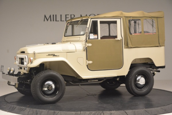 Used 1966 Toyota FJ40 Land Cruiser Land Cruiser for sale Sold at Bugatti of Greenwich in Greenwich CT 06830 3