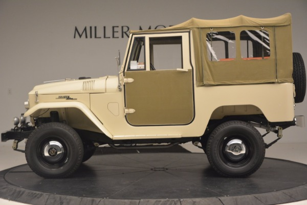 Used 1966 Toyota FJ40 Land Cruiser Land Cruiser for sale Sold at Bugatti of Greenwich in Greenwich CT 06830 4