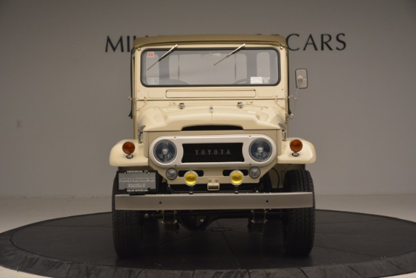 Used 1966 Toyota FJ40 Land Cruiser Land Cruiser for sale Sold at Bugatti of Greenwich in Greenwich CT 06830 8