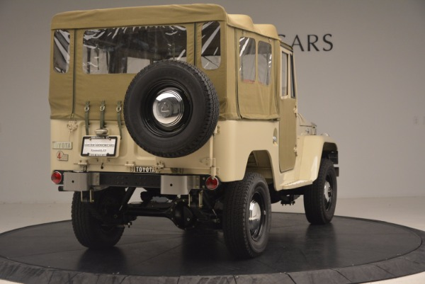 Used 1966 Toyota FJ40 Land Cruiser Land Cruiser for sale Sold at Bugatti of Greenwich in Greenwich CT 06830 9