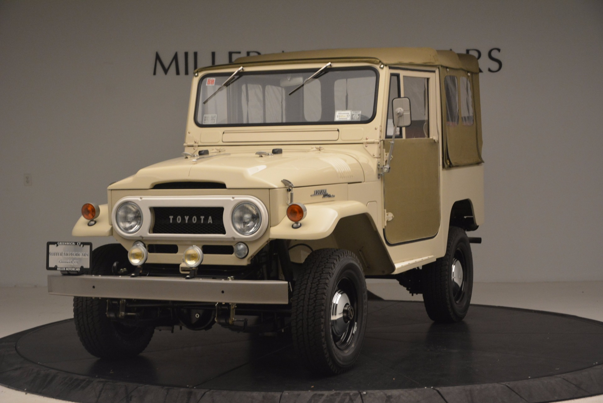 Used 1966 Toyota FJ40 Land Cruiser Land Cruiser for sale Sold at Bugatti of Greenwich in Greenwich CT 06830 1