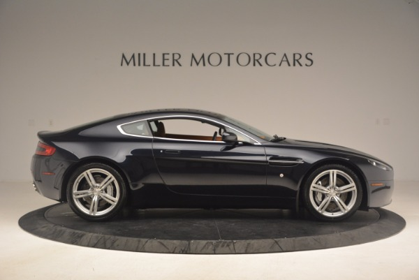 Used 2009 Aston Martin V8 Vantage for sale Sold at Bugatti of Greenwich in Greenwich CT 06830 9