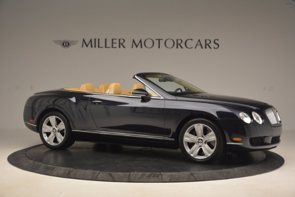 Used 2007 Bentley Continental GTC for sale Sold at Bugatti of Greenwich in Greenwich CT 06830 10