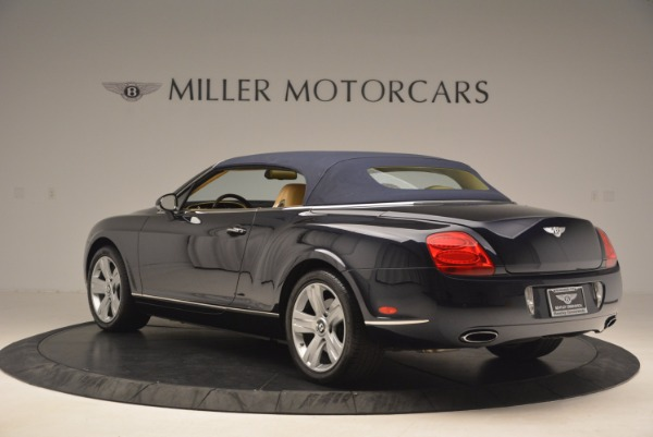 Used 2007 Bentley Continental GTC for sale Sold at Bugatti of Greenwich in Greenwich CT 06830 18