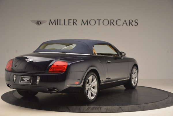 Used 2007 Bentley Continental GTC for sale Sold at Bugatti of Greenwich in Greenwich CT 06830 20