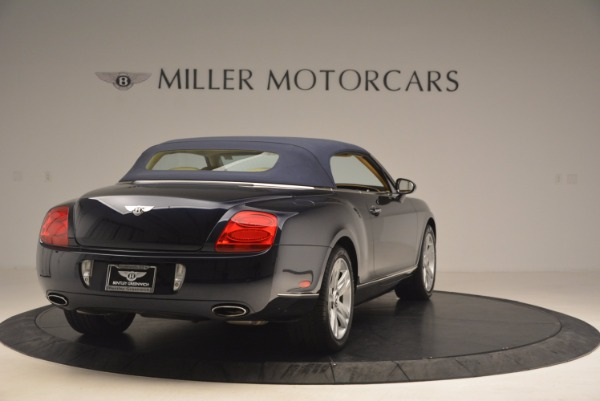 Used 2007 Bentley Continental GTC for sale Sold at Bugatti of Greenwich in Greenwich CT 06830 21