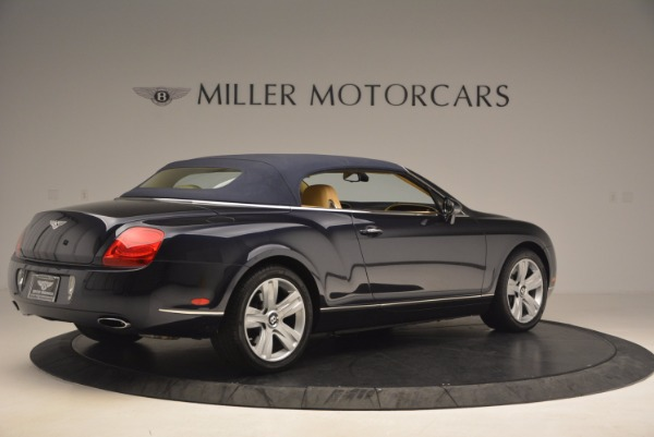 Used 2007 Bentley Continental GTC for sale Sold at Bugatti of Greenwich in Greenwich CT 06830 22