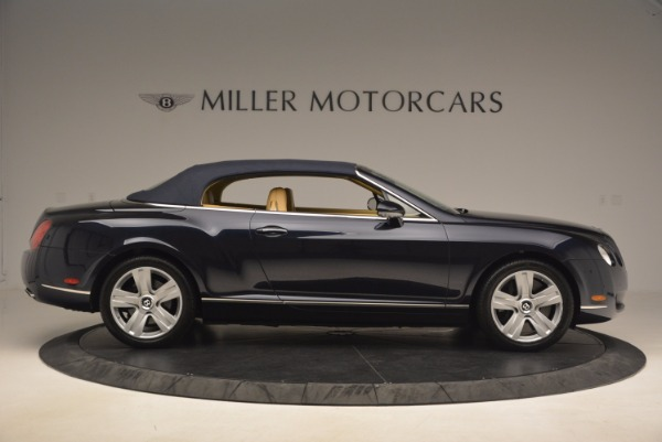 Used 2007 Bentley Continental GTC for sale Sold at Bugatti of Greenwich in Greenwich CT 06830 23