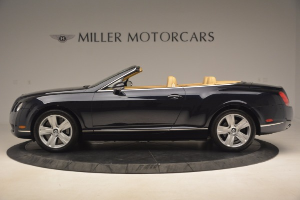 Used 2007 Bentley Continental GTC for sale Sold at Bugatti of Greenwich in Greenwich CT 06830 3