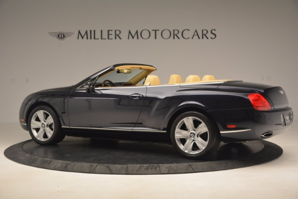 Used 2007 Bentley Continental GTC for sale Sold at Bugatti of Greenwich in Greenwich CT 06830 4
