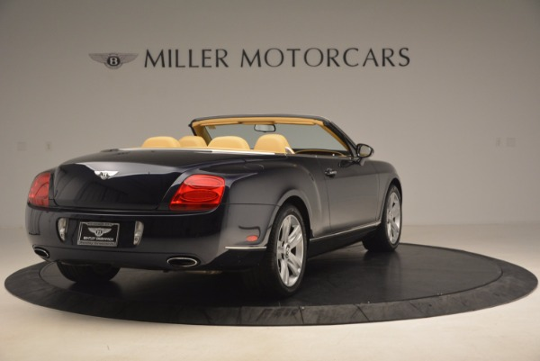 Used 2007 Bentley Continental GTC for sale Sold at Bugatti of Greenwich in Greenwich CT 06830 7