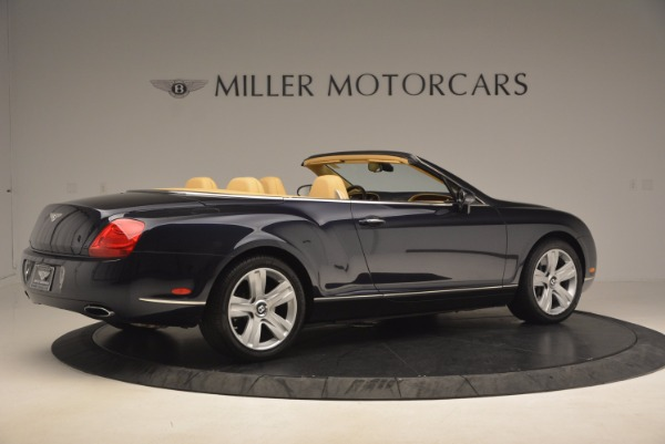 Used 2007 Bentley Continental GTC for sale Sold at Bugatti of Greenwich in Greenwich CT 06830 8