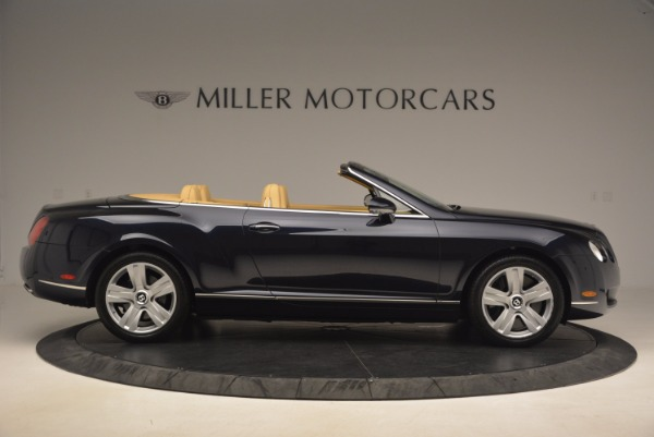 Used 2007 Bentley Continental GTC for sale Sold at Bugatti of Greenwich in Greenwich CT 06830 9