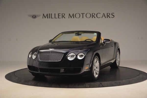 Used 2007 Bentley Continental GTC for sale Sold at Bugatti of Greenwich in Greenwich CT 06830 1