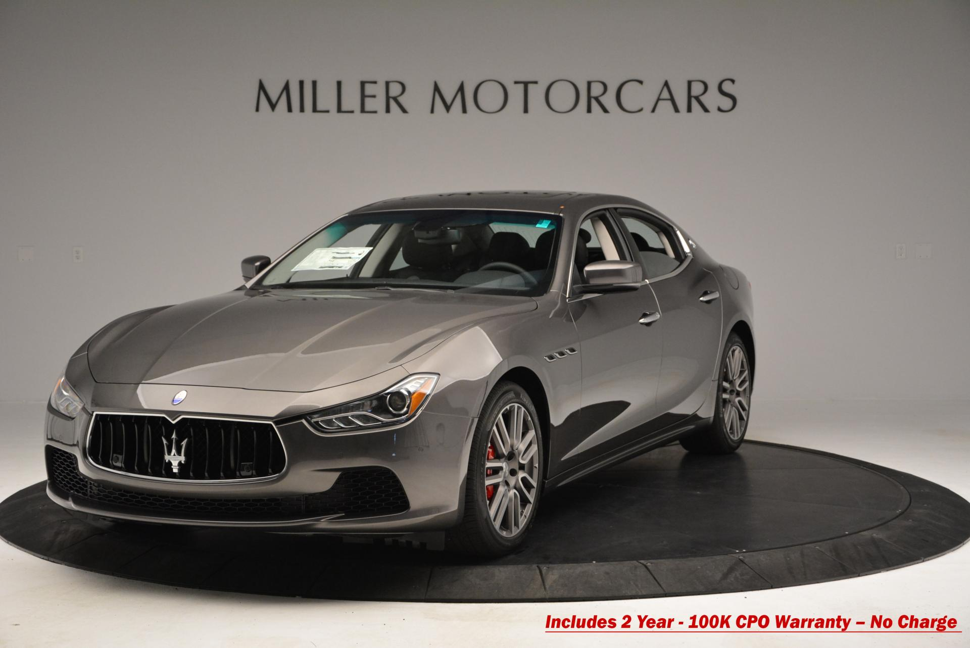 Used 2015 Maserati Ghibli S Q4 for sale Sold at Bugatti of Greenwich in Greenwich CT 06830 1