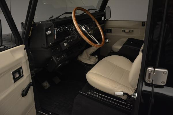 Used 1985 LAND ROVER Defender 110 for sale Sold at Bugatti of Greenwich in Greenwich CT 06830 12