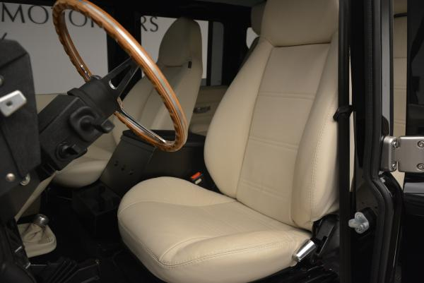 Used 1985 LAND ROVER Defender 110 for sale Sold at Bugatti of Greenwich in Greenwich CT 06830 13