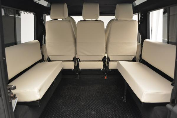 Used 1985 LAND ROVER Defender 110 for sale Sold at Bugatti of Greenwich in Greenwich CT 06830 18