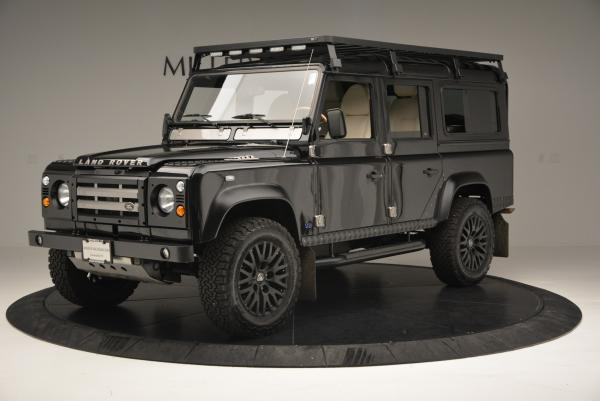 Used 1985 LAND ROVER Defender 110 for sale Sold at Bugatti of Greenwich in Greenwich CT 06830 2