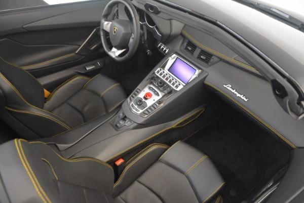 Used 2015 Lamborghini Aventador LP 700-4 for sale Sold at Bugatti of Greenwich in Greenwich CT 06830 27