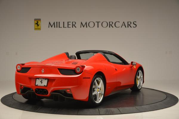 Used 2014 Ferrari 458 Spider for sale Sold at Bugatti of Greenwich in Greenwich CT 06830 7
