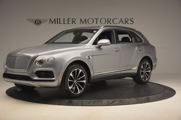 New 2018 Bentley Bentayga Onyx for sale Sold at Bugatti of Greenwich in Greenwich CT 06830 2