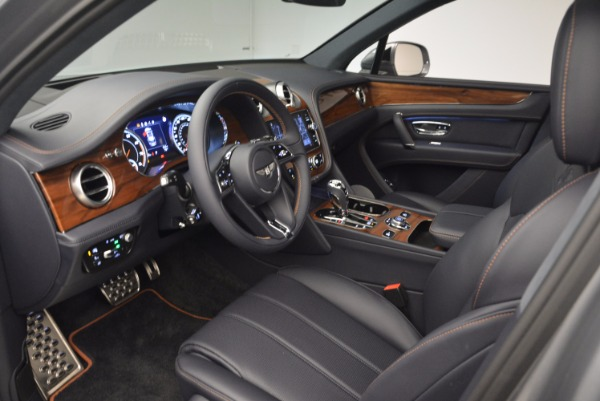 New 2018 Bentley Bentayga Onyx for sale Sold at Bugatti of Greenwich in Greenwich CT 06830 25