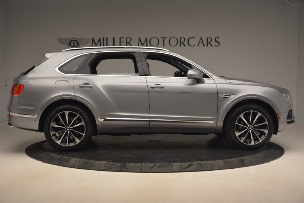 New 2018 Bentley Bentayga Onyx for sale Sold at Bugatti of Greenwich in Greenwich CT 06830 9