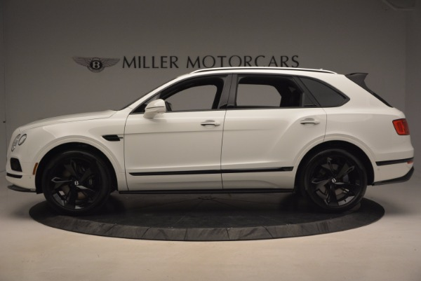 New 2018 Bentley Bentayga Black Edition for sale Sold at Bugatti of Greenwich in Greenwich CT 06830 3