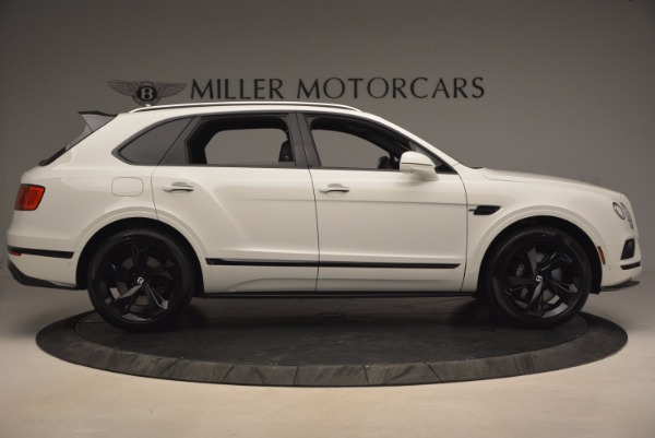 New 2018 Bentley Bentayga Black Edition for sale Sold at Bugatti of Greenwich in Greenwich CT 06830 9