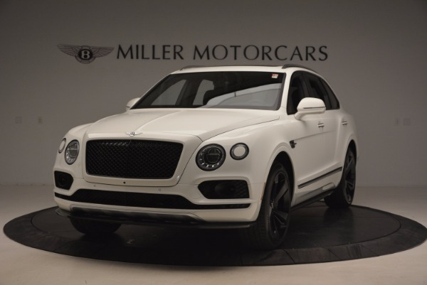 New 2018 Bentley Bentayga Black Edition for sale Sold at Bugatti of Greenwich in Greenwich CT 06830 1