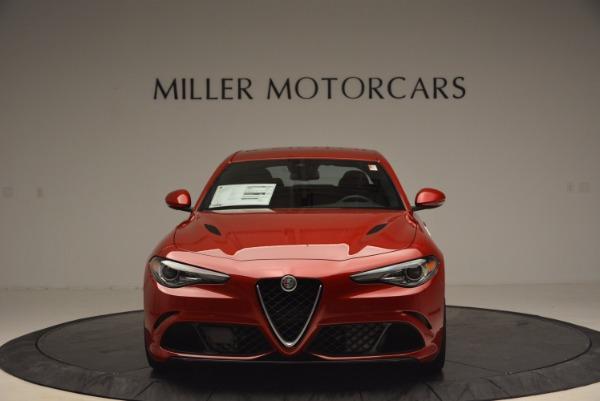 New 2017 Alfa Romeo Giulia Quadrifoglio Quadrifoglio for sale Sold at Bugatti of Greenwich in Greenwich CT 06830 12