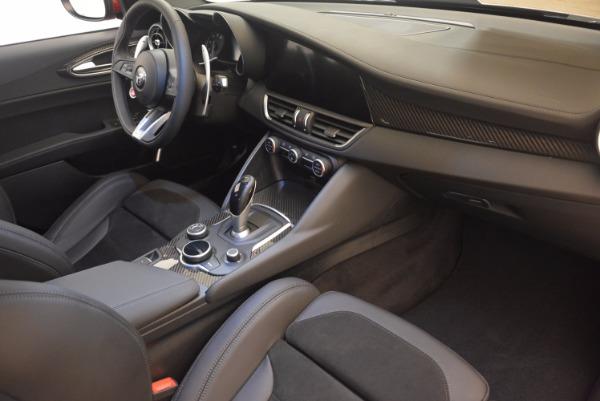 New 2017 Alfa Romeo Giulia Quadrifoglio Quadrifoglio for sale Sold at Bugatti of Greenwich in Greenwich CT 06830 20