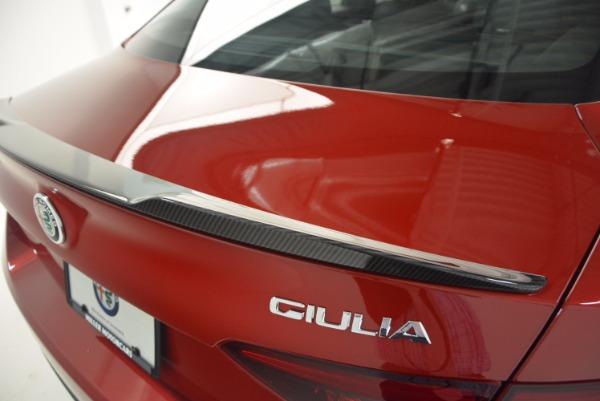 New 2017 Alfa Romeo Giulia Quadrifoglio Quadrifoglio for sale Sold at Bugatti of Greenwich in Greenwich CT 06830 27
