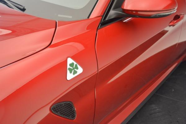 New 2017 Alfa Romeo Giulia Quadrifoglio Quadrifoglio for sale Sold at Bugatti of Greenwich in Greenwich CT 06830 28
