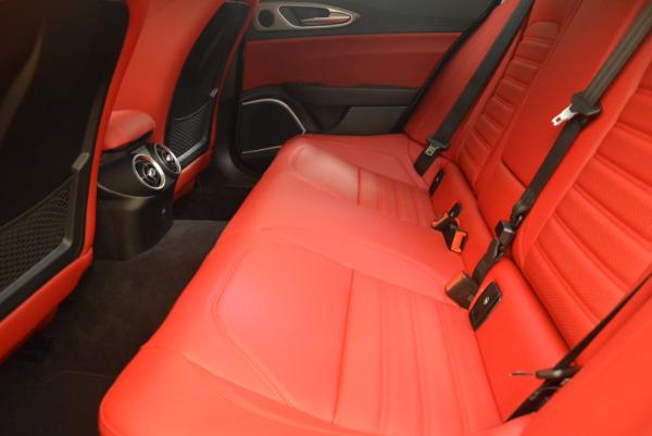 New 2017 Alfa Romeo Giulia Ti Q4 for sale Sold at Bugatti of Greenwich in Greenwich CT 06830 19