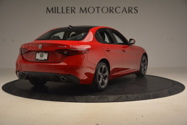 New 2017 Alfa Romeo Giulia Ti Sport Q4 for sale Sold at Bugatti of Greenwich in Greenwich CT 06830 6