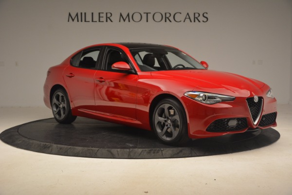 New 2017 Alfa Romeo Giulia Ti Sport Q4 for sale Sold at Bugatti of Greenwich in Greenwich CT 06830 9