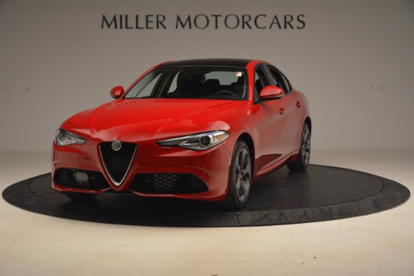 New 2017 Alfa Romeo Giulia Ti Sport Q4 for sale Sold at Bugatti of Greenwich in Greenwich CT 06830 1