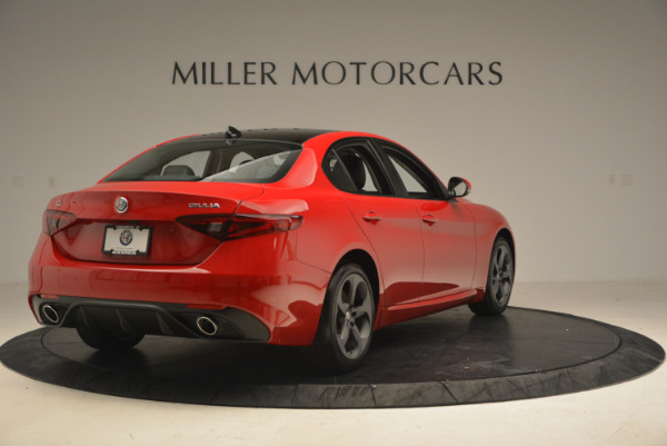 New 2017 Alfa Romeo Giulia Q4 for sale Sold at Bugatti of Greenwich in Greenwich CT 06830 8