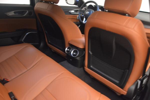 New 2017 Alfa Romeo Giulia Ti Q4 for sale Sold at Bugatti of Greenwich in Greenwich CT 06830 22
